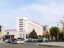 Ust-Kamenogorsk city hotel view