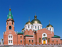 Ust-Kamenogorsk city church