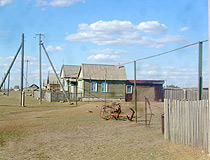 West Kazakhstan oblast village